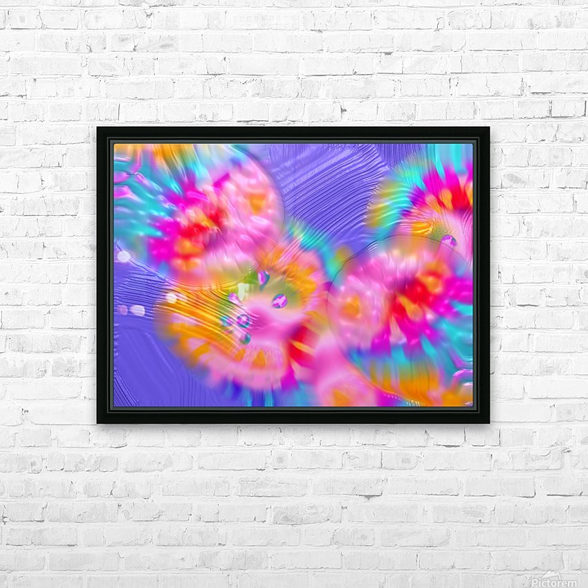 38 HD Sublimation Metal print with Decorating Float Frame (BOX)