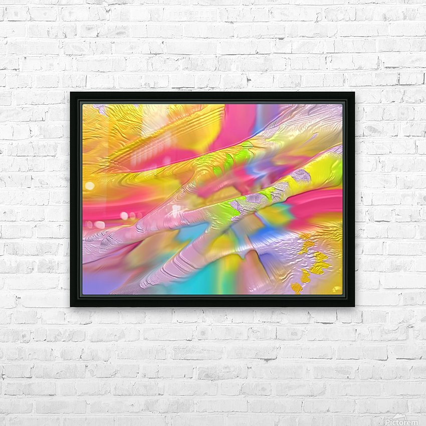 140 HD Sublimation Metal print with Decorating Float Frame (BOX)
