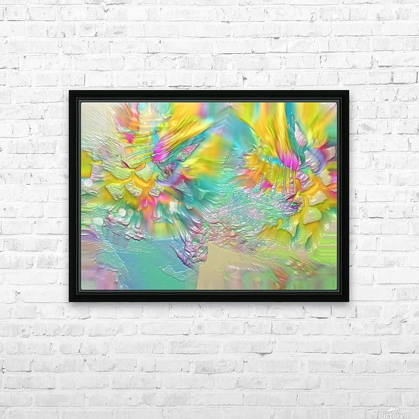 215 HD Sublimation Metal print with Decorating Float Frame (BOX)
