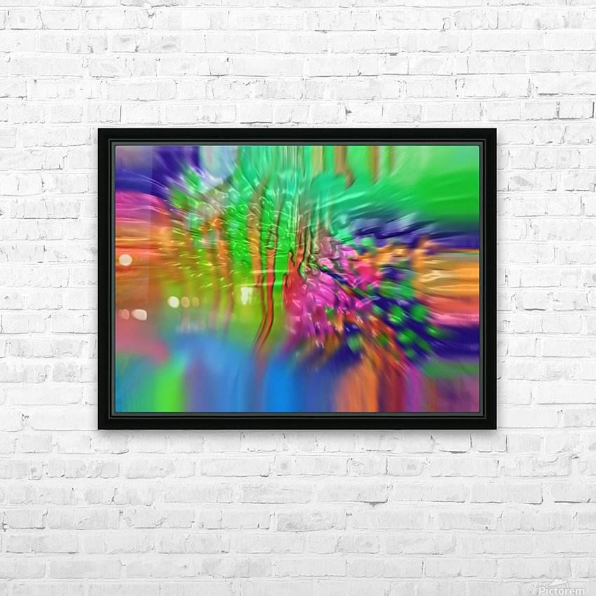 207 HD Sublimation Metal print with Decorating Float Frame (BOX)