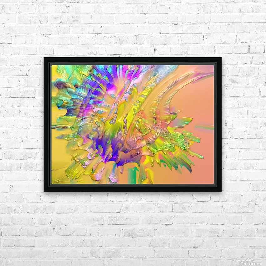 206 HD Sublimation Metal print with Decorating Float Frame (BOX)