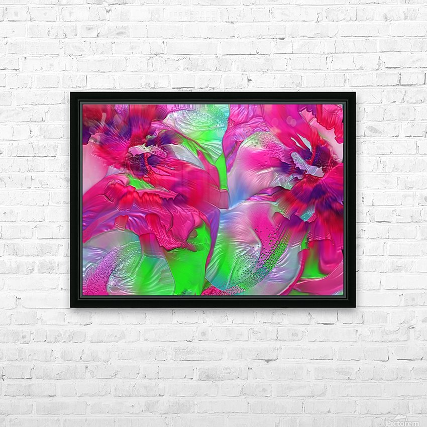 191 HD Sublimation Metal print with Decorating Float Frame (BOX)