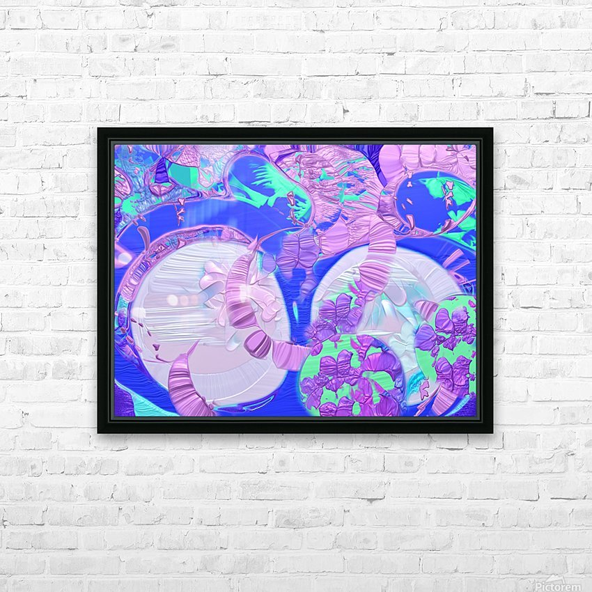 540 HD Sublimation Metal print with Decorating Float Frame (BOX)