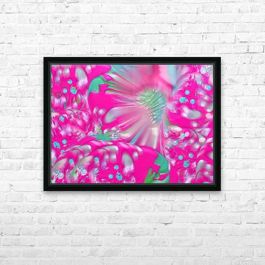 612 HD Sublimation Metal print with Decorating Float Frame (BOX)