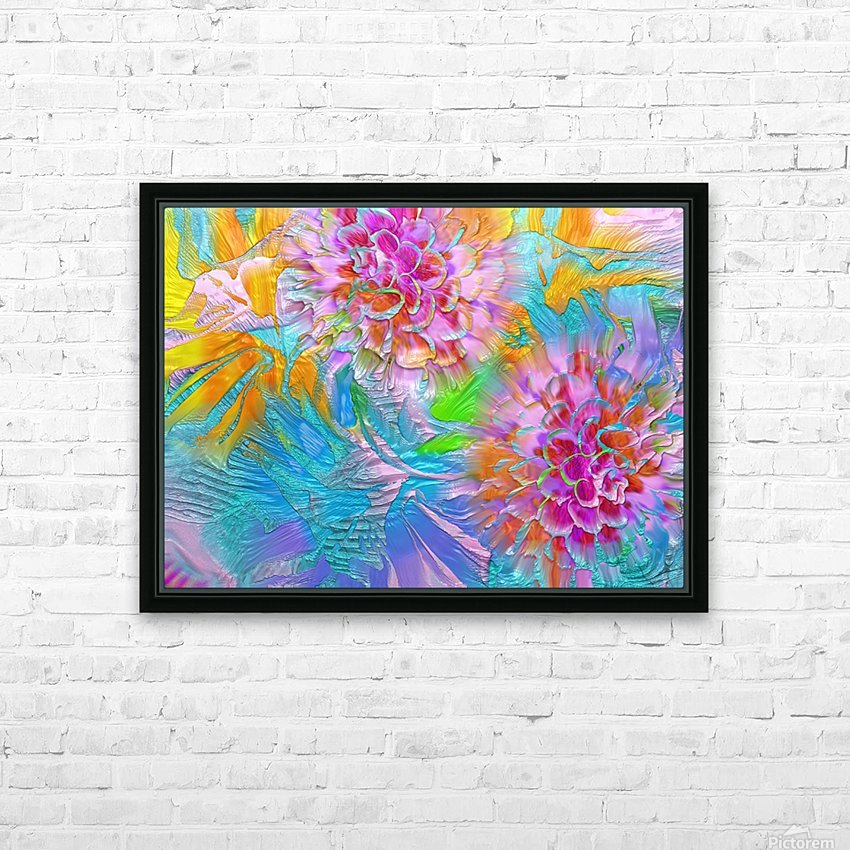 621 HD Sublimation Metal print with Decorating Float Frame (BOX)
