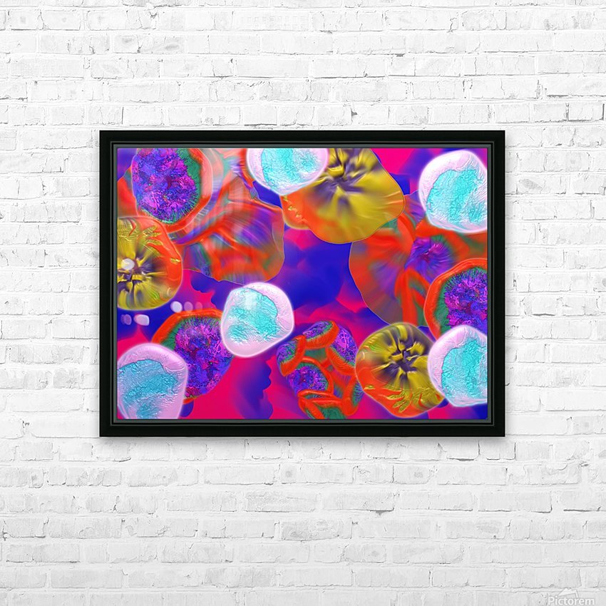 805 HD Sublimation Metal print with Decorating Float Frame (BOX)