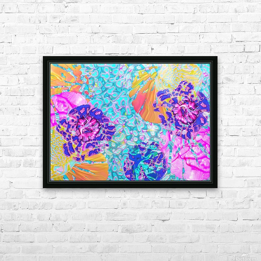 826 HD Sublimation Metal print with Decorating Float Frame (BOX)