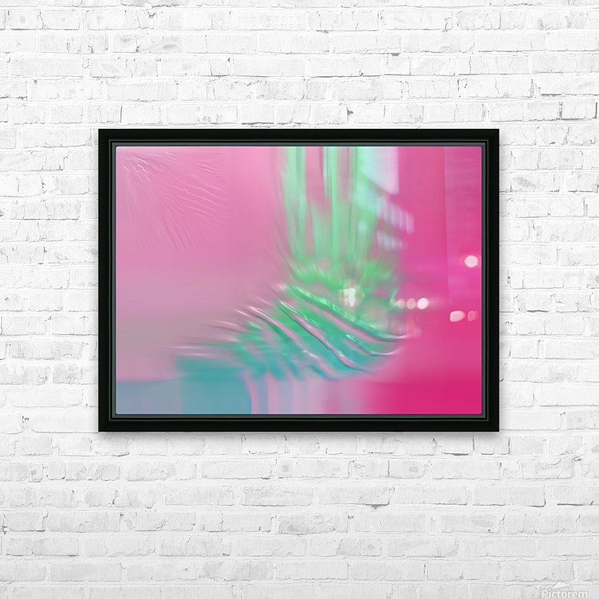 Ref: 876 HD Sublimation Metal print with Decorating Float Frame (BOX)