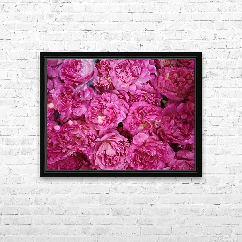 ROSE GARDEN   HD Sublimation Metal print with Decorating Float Frame (BOX)