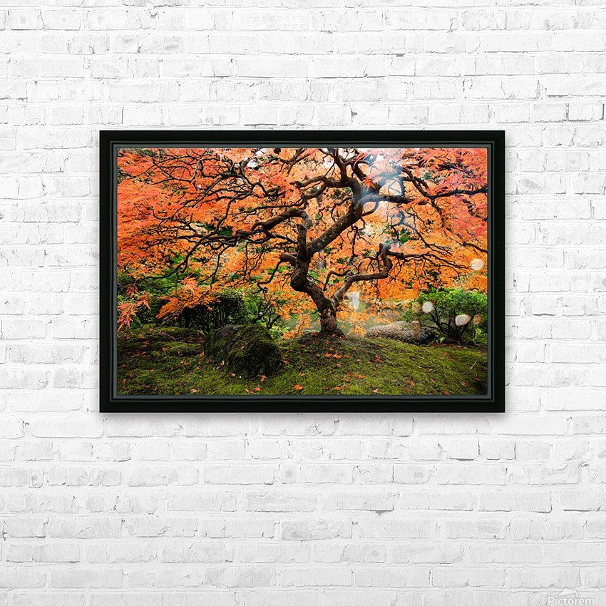 autumn bliss HD Sublimation Metal print with Decorating Float Frame (BOX)