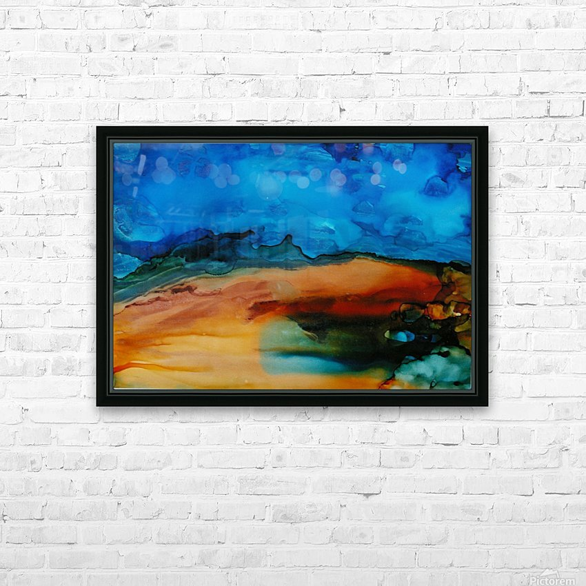 Dreams of You HD Sublimation Metal print with Decorating Float Frame (BOX)
