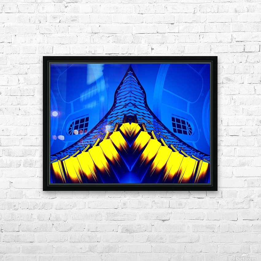 JAWS HD Sublimation Metal print with Decorating Float Frame (BOX)