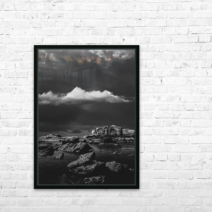 Above The Falls HD Sublimation Metal print with Decorating Float Frame (BOX)