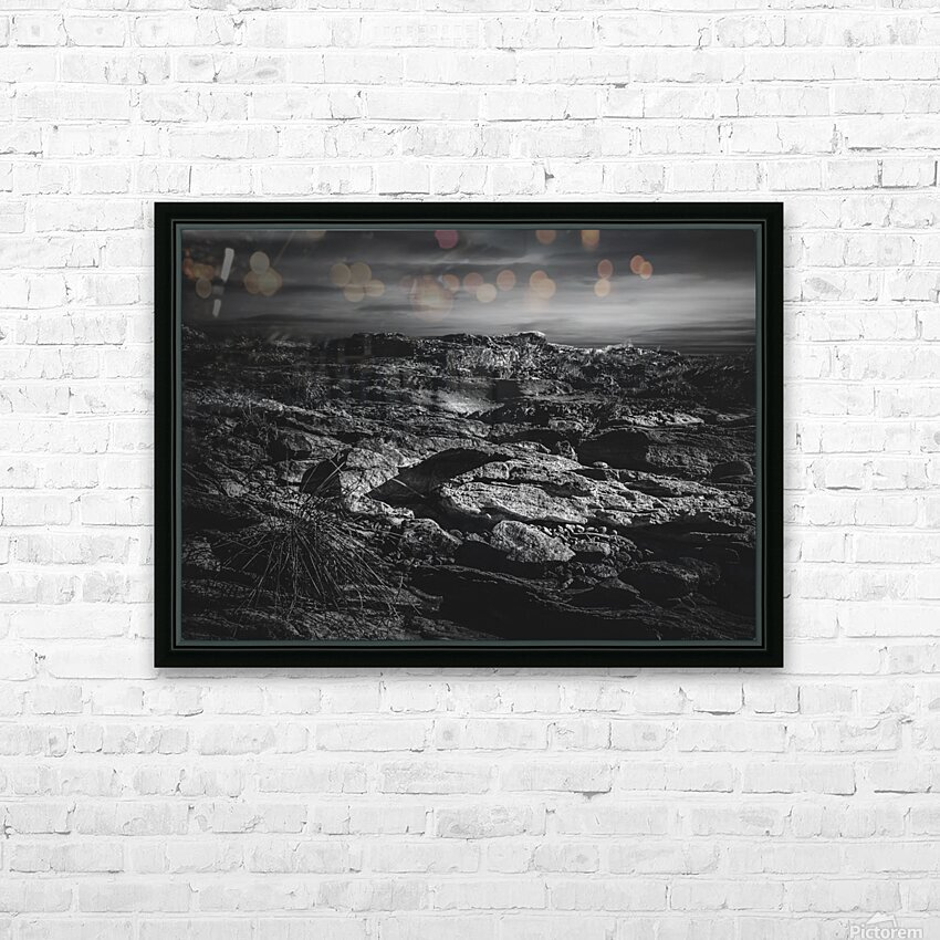 Secret Mountain Place HD Sublimation Metal print with Decorating Float Frame (BOX)