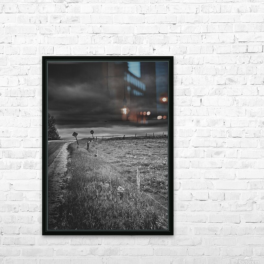 Crossroads HD Sublimation Metal print with Decorating Float Frame (BOX)