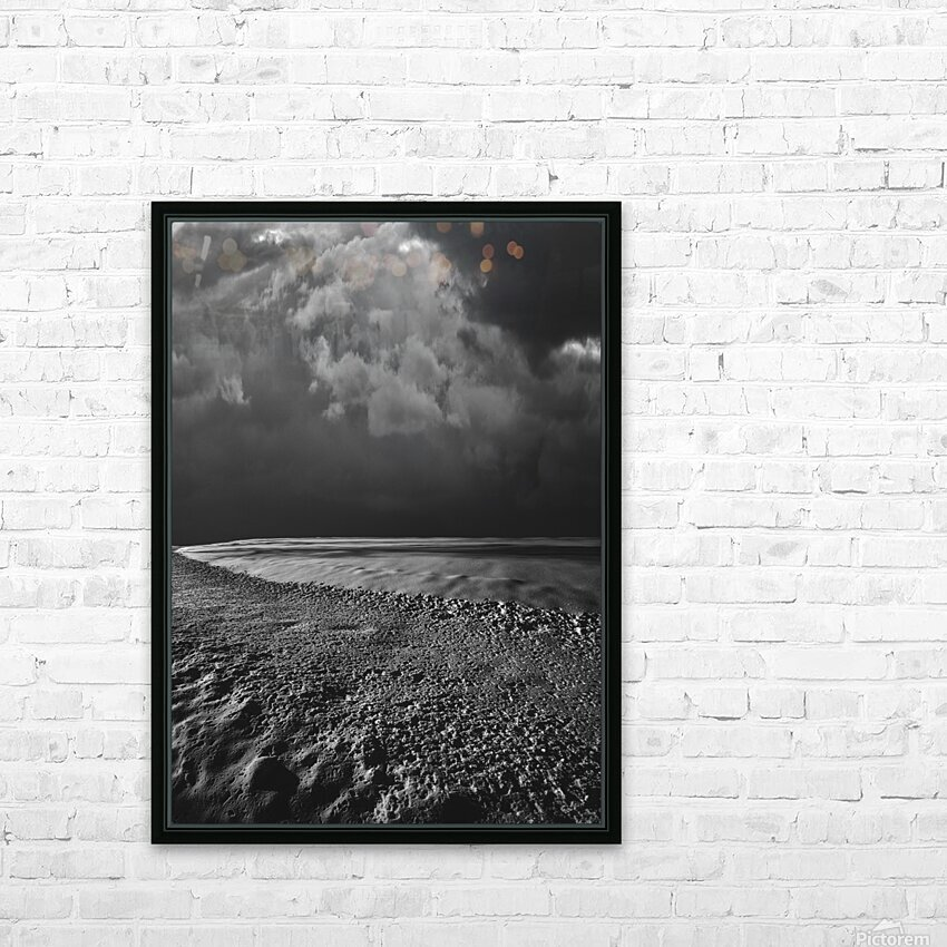 Night Shapes HD Sublimation Metal print with Decorating Float Frame (BOX)