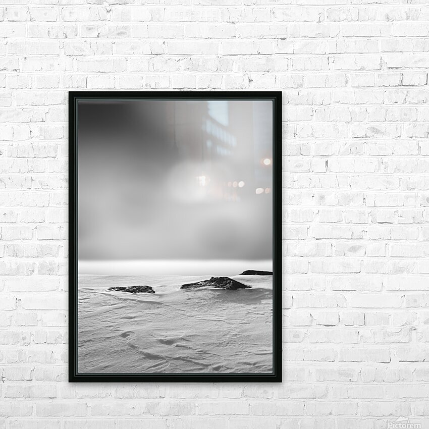 The Silence HD Sublimation Metal print with Decorating Float Frame (BOX)