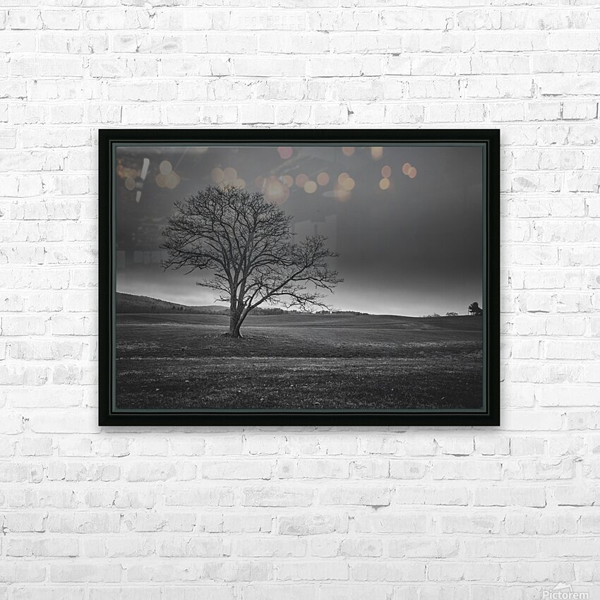 November Tree HD Sublimation Metal print with Decorating Float Frame (BOX)