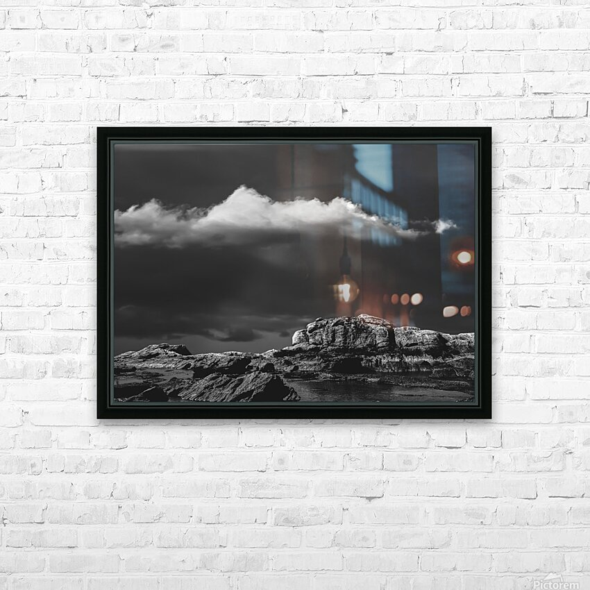 Peaceful Evening HD Sublimation Metal print with Decorating Float Frame (BOX)
