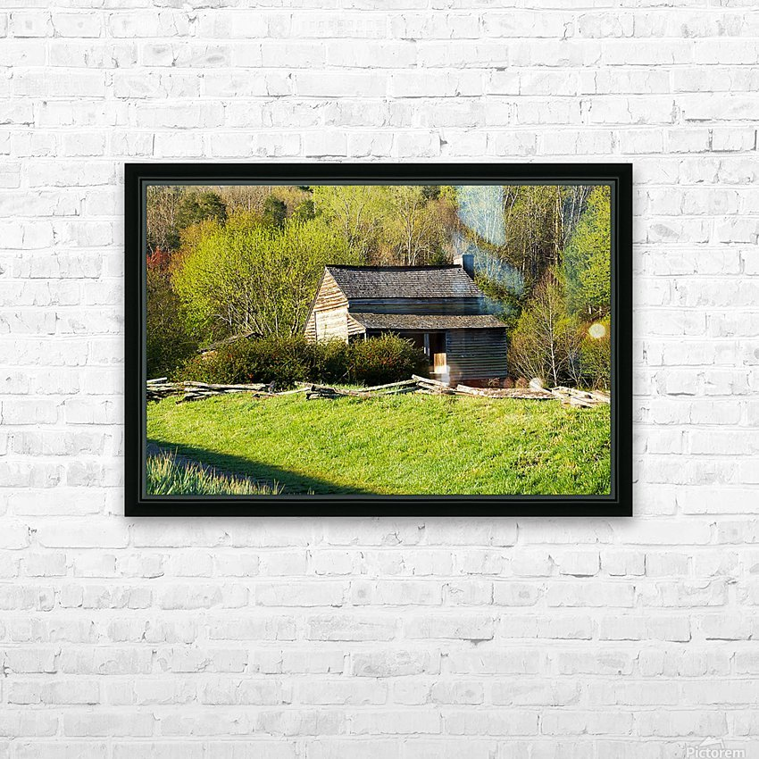 Looking Through the Web HD Sublimation Metal print with Decorating Float Frame (BOX)
