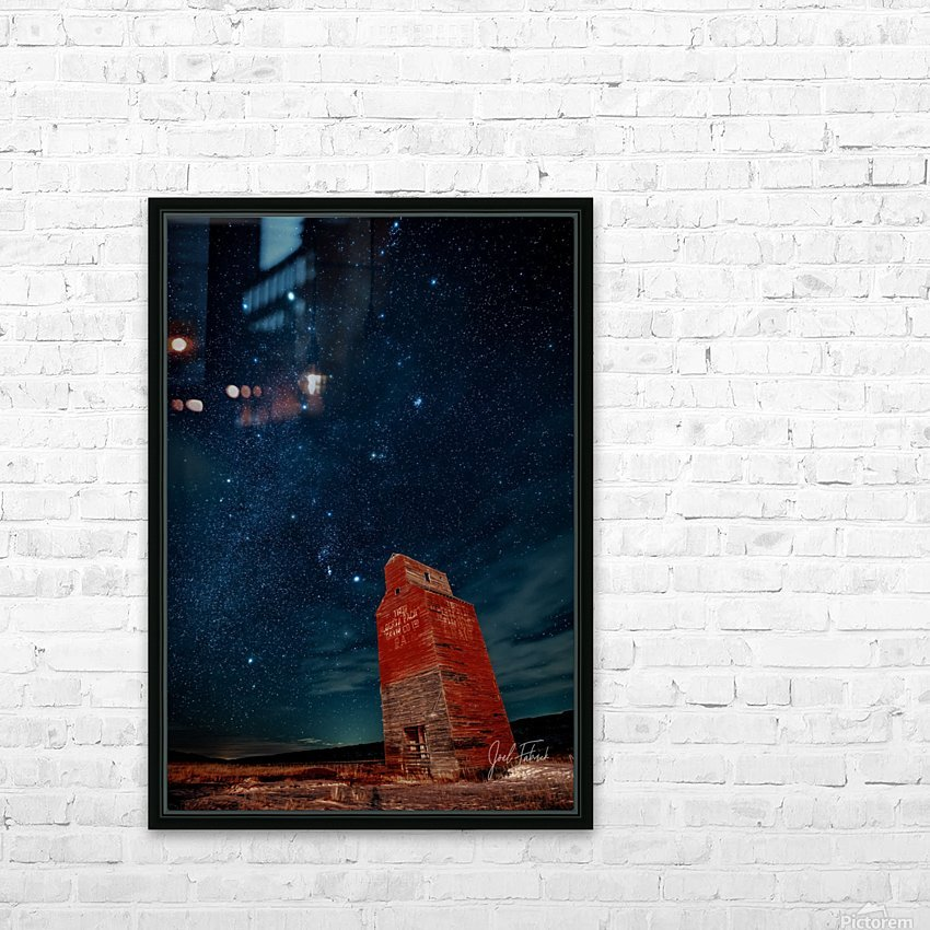 Dorothy Elevator Milky Way HD Sublimation Metal print with Decorating Float Frame (BOX)