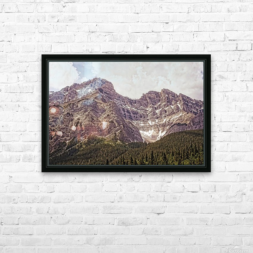 Cascade Mountain in Banff National Park BC HD Sublimation Metal print with Decorating Float Frame (BOX)