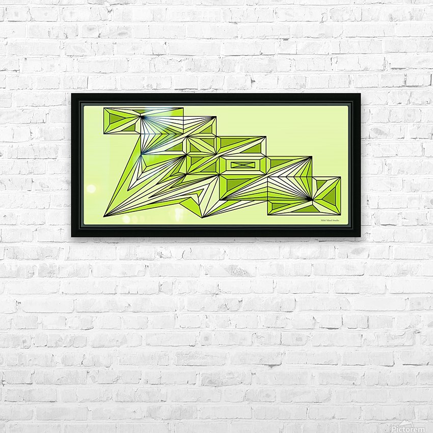 A star ship 3 HD Sublimation Metal print with Decorating Float Frame (BOX)