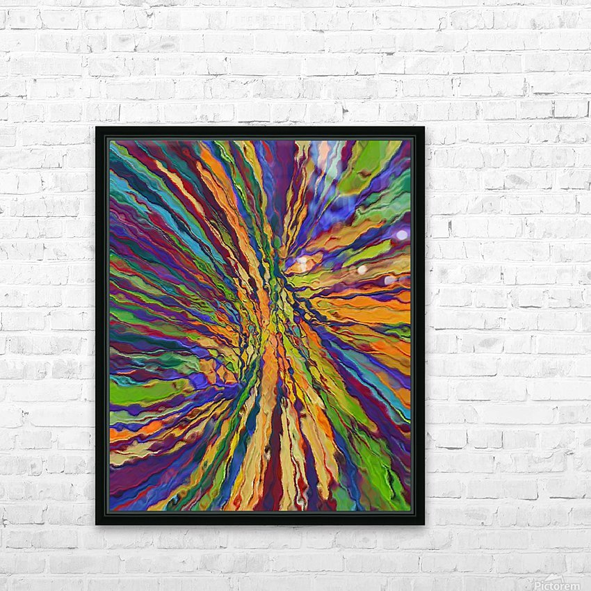 Abstract Composition 141 HD Sublimation Metal print with Decorating Float Frame (BOX)
