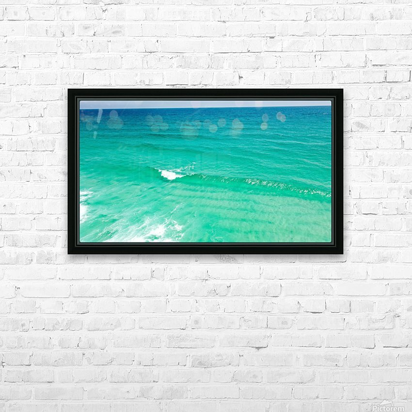 Clear Surf  HD Sublimation Metal print with Decorating Float Frame (BOX)