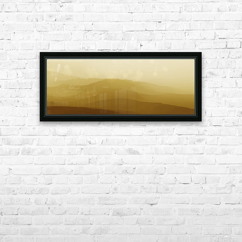 Mountainous Landscape 6 HD Sublimation Metal print with Decorating Float Frame (BOX)