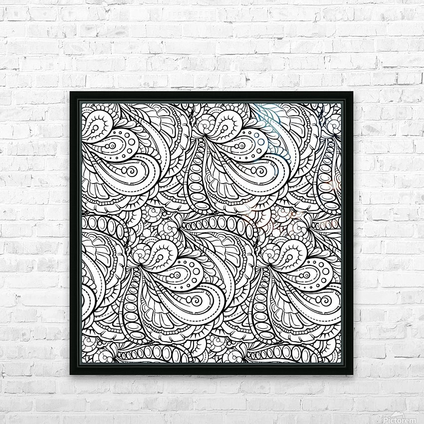 Fluidity 3 HD Sublimation Metal print with Decorating Float Frame (BOX)