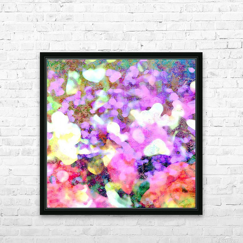 Petals on the Breeze HD Sublimation Metal print with Decorating Float Frame (BOX)