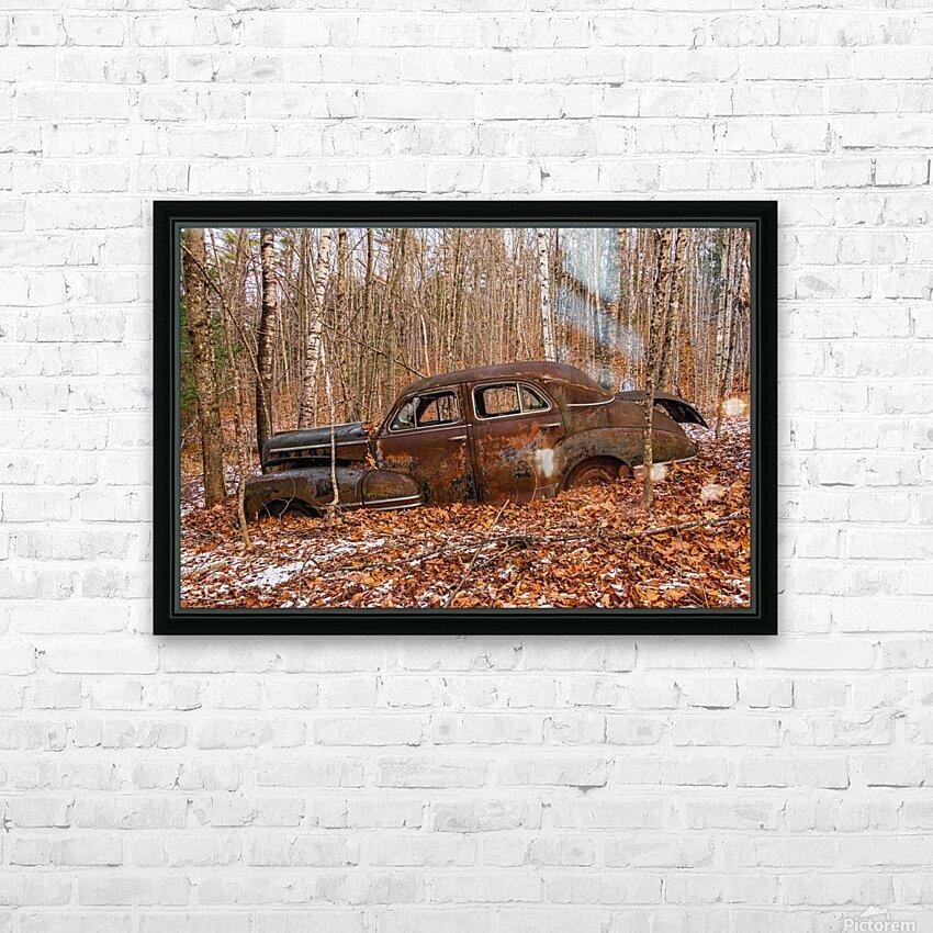 Chevrolet Fleetline 4 HD Sublimation Metal print with Decorating Float Frame (BOX)
