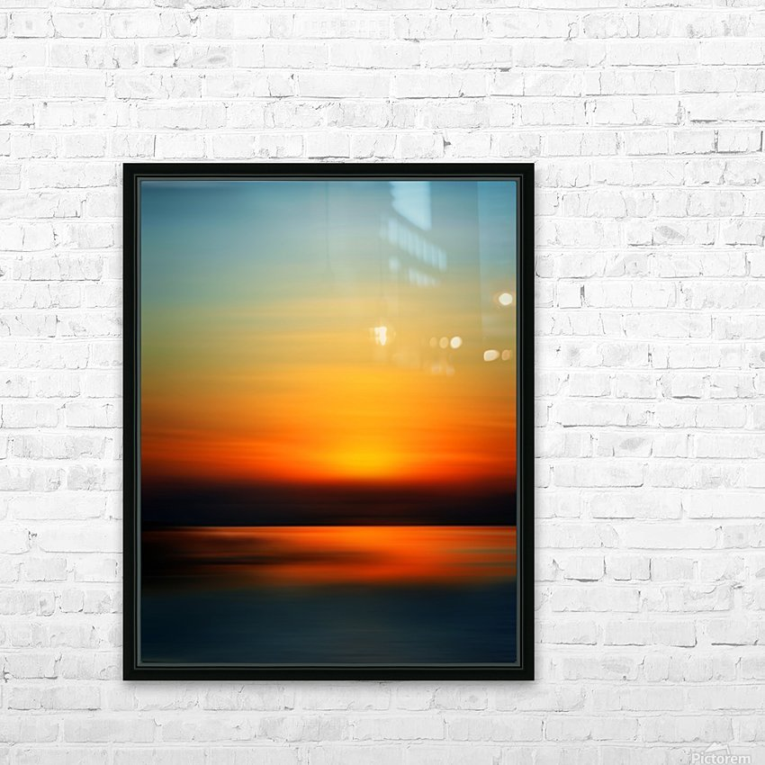 Abstract Landscape 9 HD Sublimation Metal print with Decorating Float Frame (BOX)