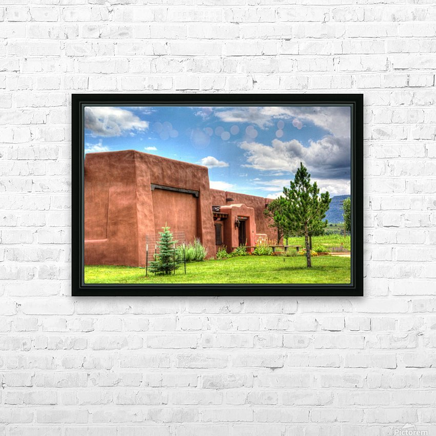 Seton Library HD Sublimation Metal print with Decorating Float Frame (BOX)