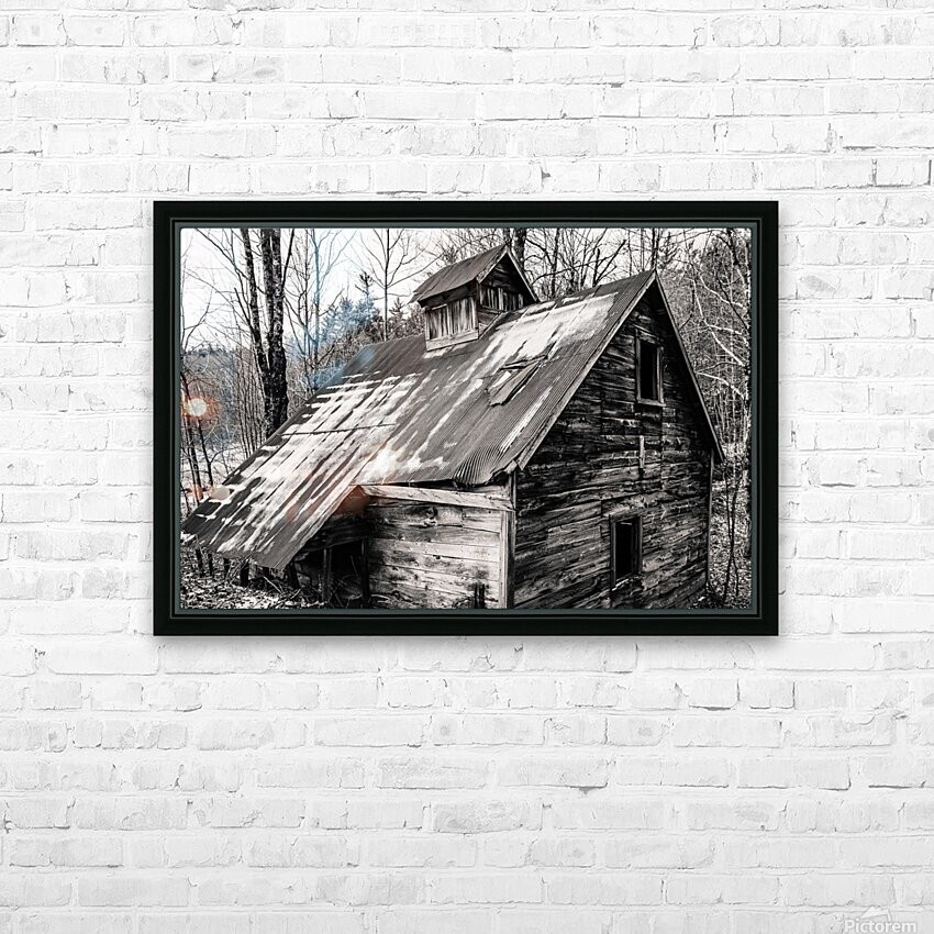 Abandoned Shack 6 HD Sublimation Metal print with Decorating Float Frame (BOX)