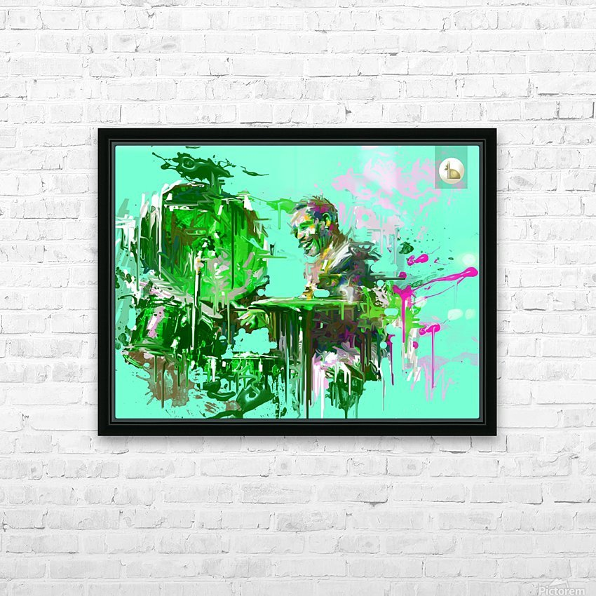 Untitled 9 HD Sublimation Metal print with Decorating Float Frame (BOX)