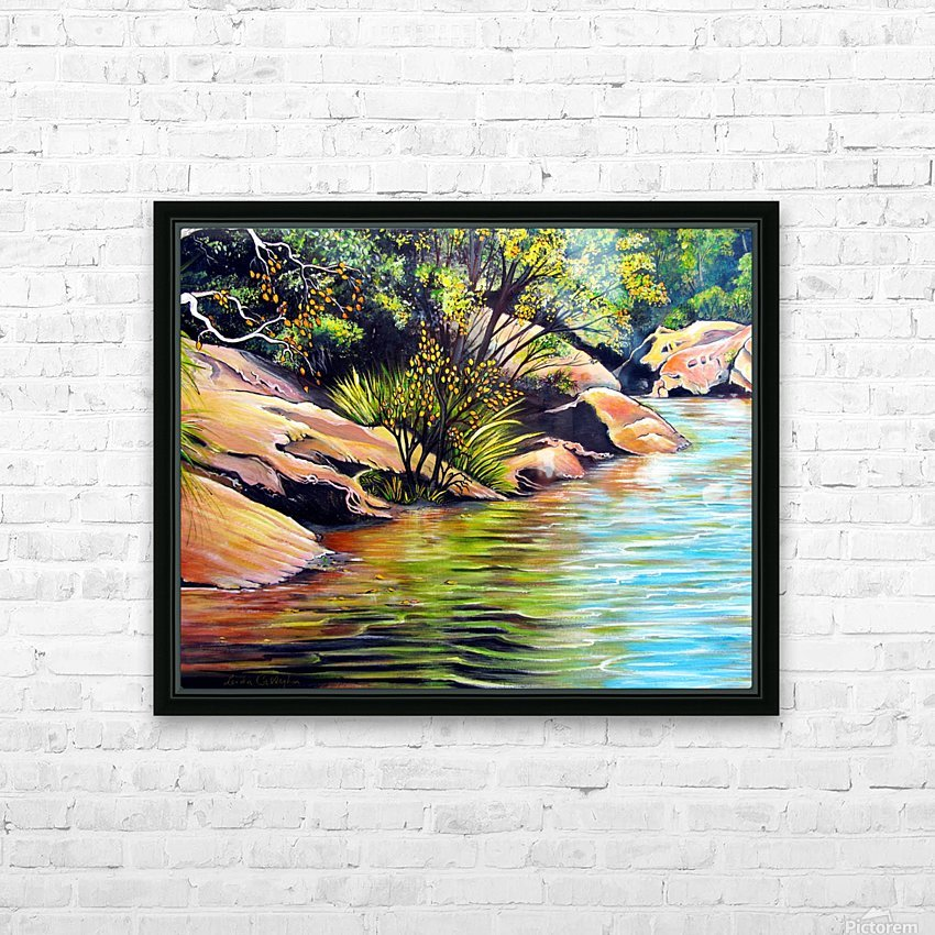 Jellybean Pool Australia HD Sublimation Metal print with Decorating Float Frame (BOX)