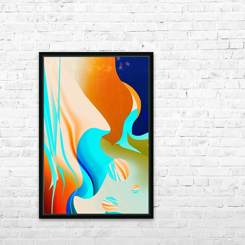 connection 1911232252 HD Sublimation Metal print with Decorating Float Frame (BOX)