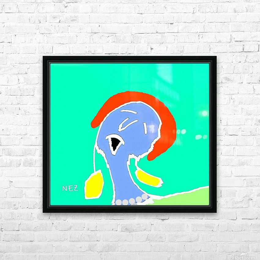 The Singer HD Sublimation Metal print with Decorating Float Frame (BOX)
