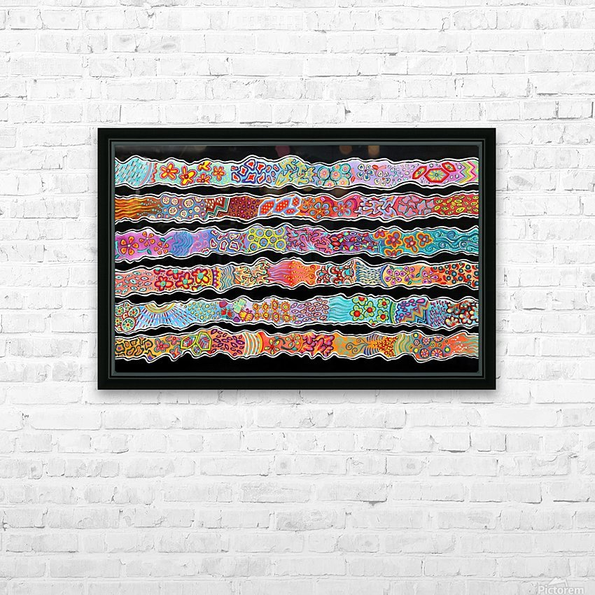 Streams Of Joy HD Sublimation Metal print with Decorating Float Frame (BOX)