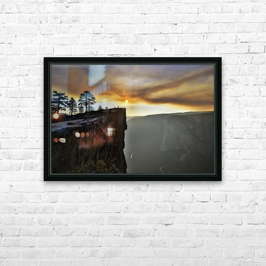 conquered HD Sublimation Metal print with Decorating Float Frame (BOX)