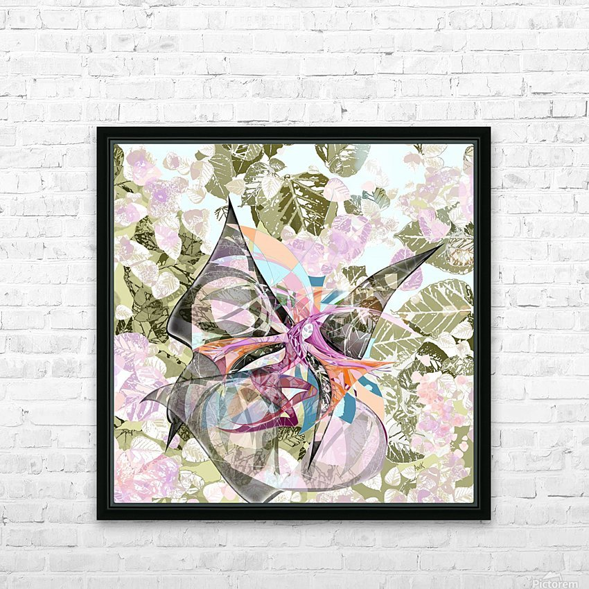 Papillon HD Sublimation Metal print with Decorating Float Frame (BOX)