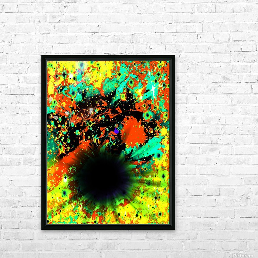 Blight HD Sublimation Metal print with Decorating Float Frame (BOX)