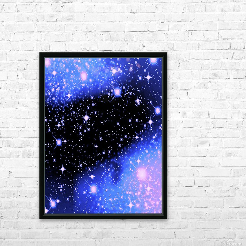 The Blue Realm HD Sublimation Metal print with Decorating Float Frame (BOX)