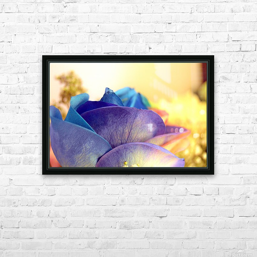 Colourful Days HD Sublimation Metal print with Decorating Float Frame (BOX)