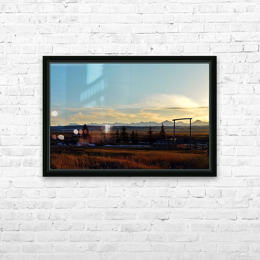 Bloomin HD Sublimation Metal print with Decorating Float Frame (BOX)