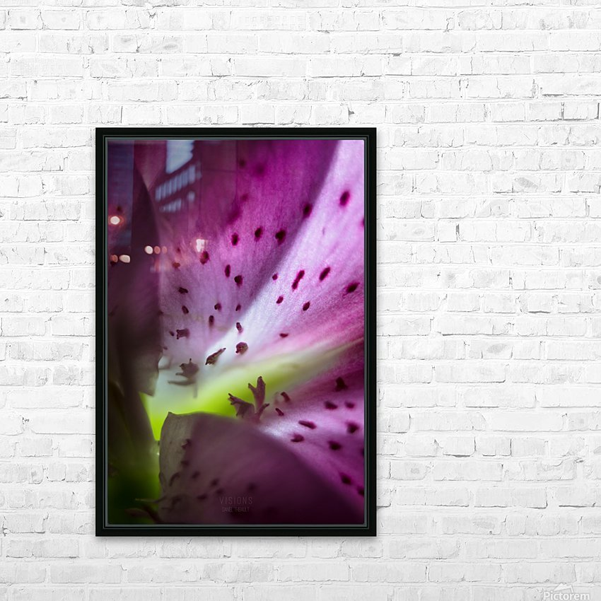 Pinky 2 HD Sublimation Metal print with Decorating Float Frame (BOX)