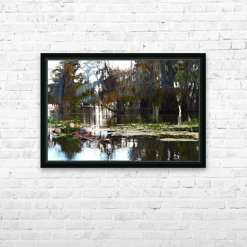 Turtle Territory   HD Sublimation Metal print with Decorating Float Frame (BOX)