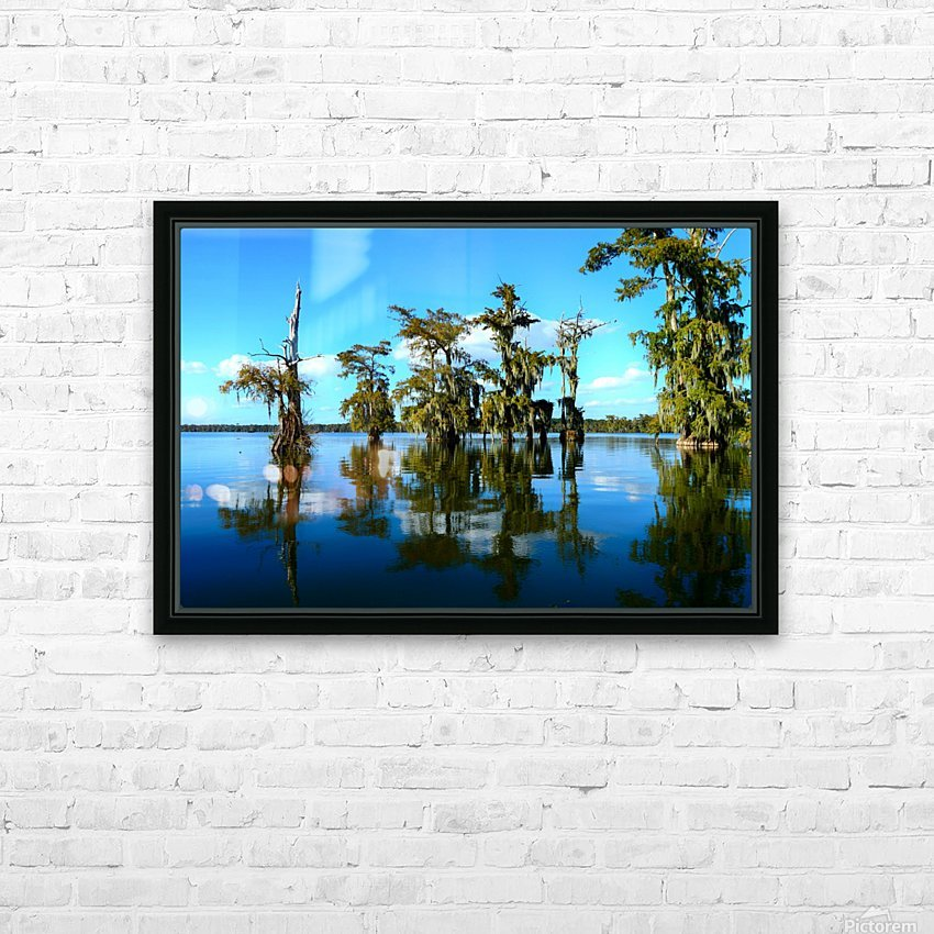 Reflect Much HD Sublimation Metal print with Decorating Float Frame (BOX)